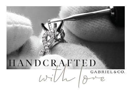 GABRIEL & CO Engagement Ring