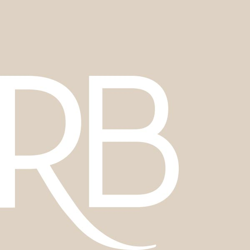 RB Signature 14K White Gold Diamond Engagement Ring Setting 1/8 cttw