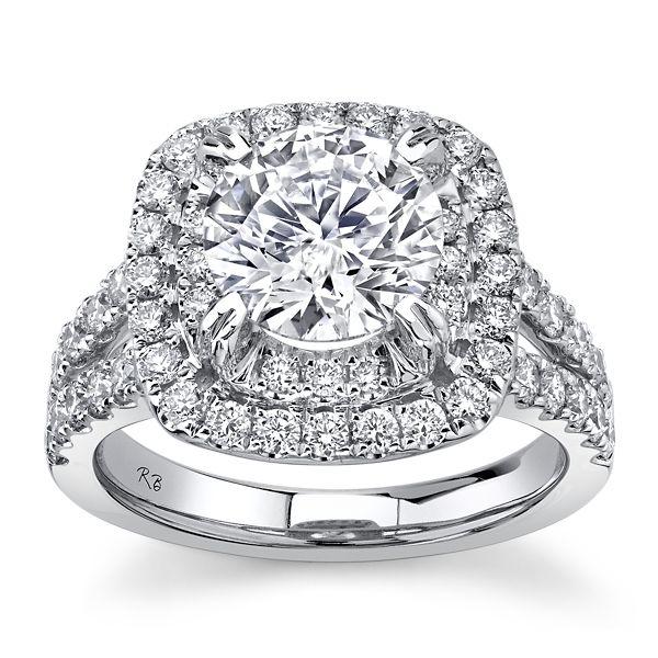 Eternalle Lab-Grown 14k White Gold Diamond Engagement Ring 3 ct. tw.