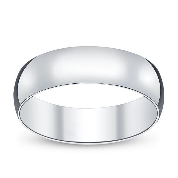 14k White Gold Classic Fit Wedding Band