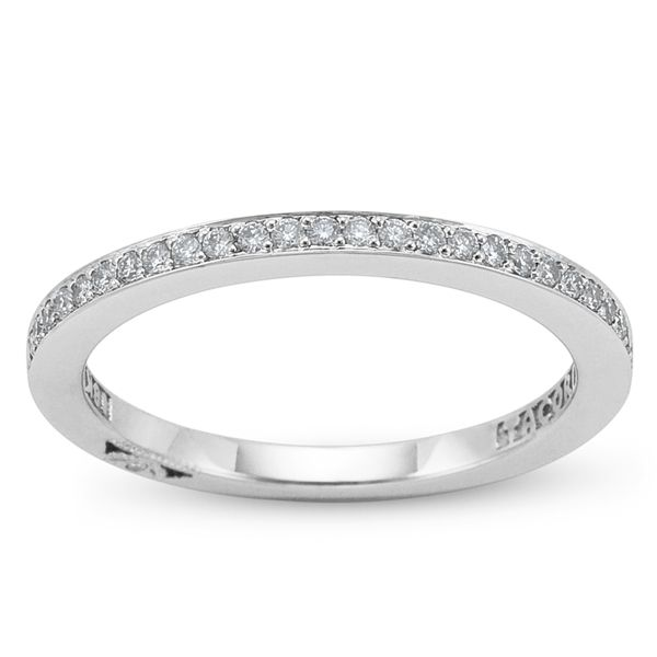Tacori 18k White Gold Diamond Wedding Ring 1/6 ct. tw.