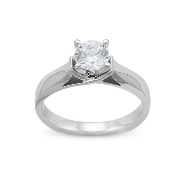 Ladies Solitaire Engagement Ring Mounting