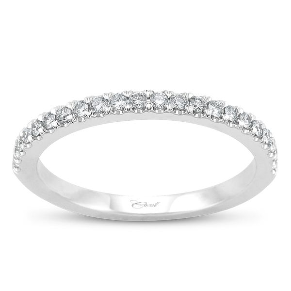 Coast Diamond Ladies Band With Prong Set Round Diamonds