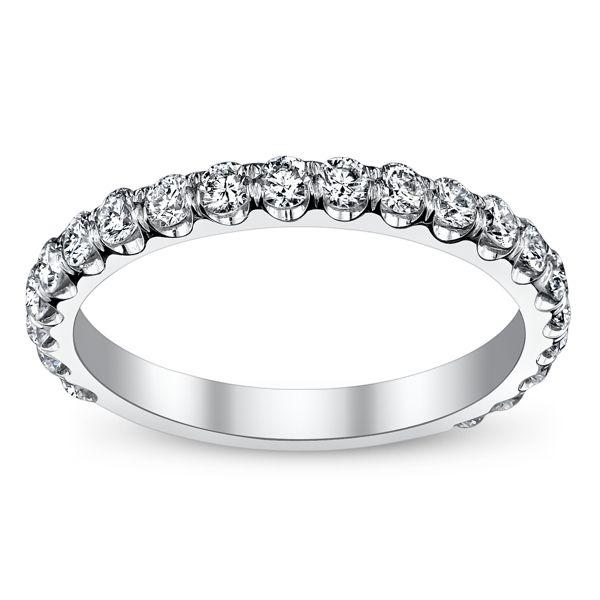 Michael M. 18k White Gold Diamond Wedding Ring 3/4 ct. tw.