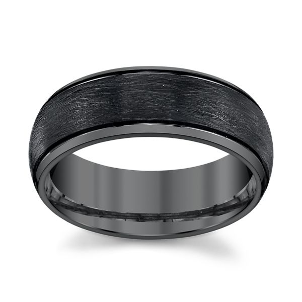 Triton Black Tungsten 8 mm Wedding Band