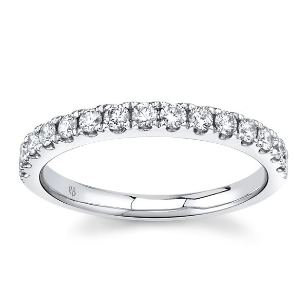 Platinum Diamond Wedding Band 3/8 ct. tw.