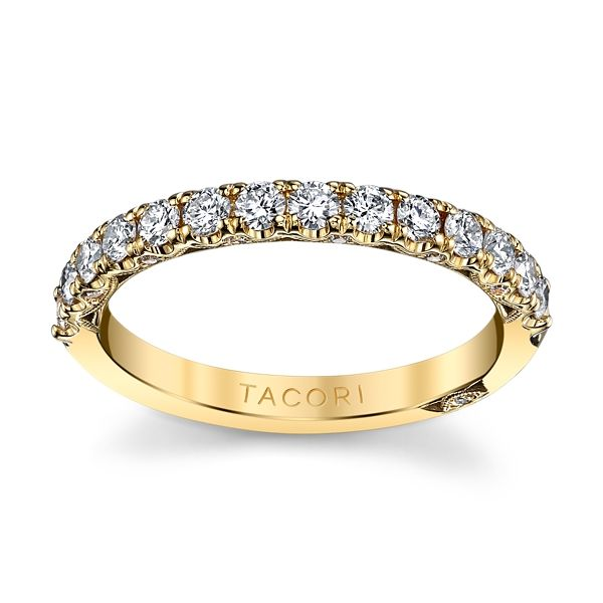 Tacori 18k Yellow Gold Diamond Wedding Band 5/8 ct. tw.