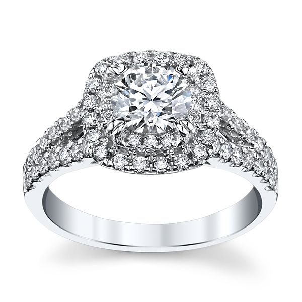 Eternalle Lab-Grown 14k White Gold Diamond Engagement Ring 1 1/2 ct. tw.