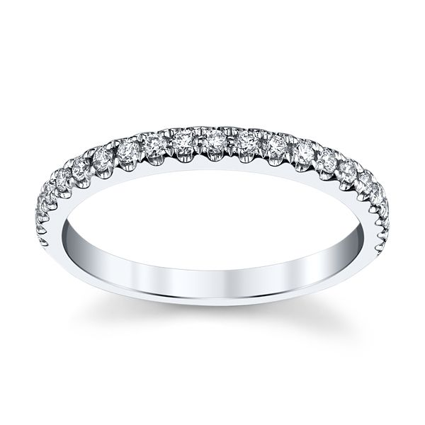 Eternalle Lab-Grown 14k White Gold Diamond Wedding Band 1/4 ct. tw.