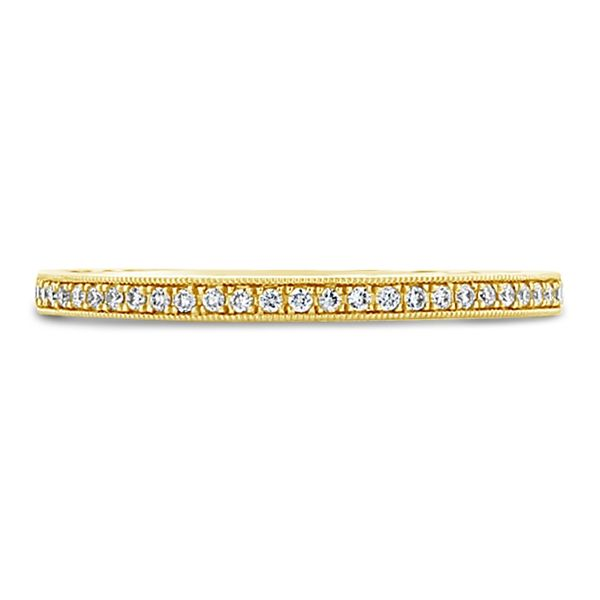 Coast Diamond 14k Yellow Gold Diamond Wedding Band .07 ct. tw.