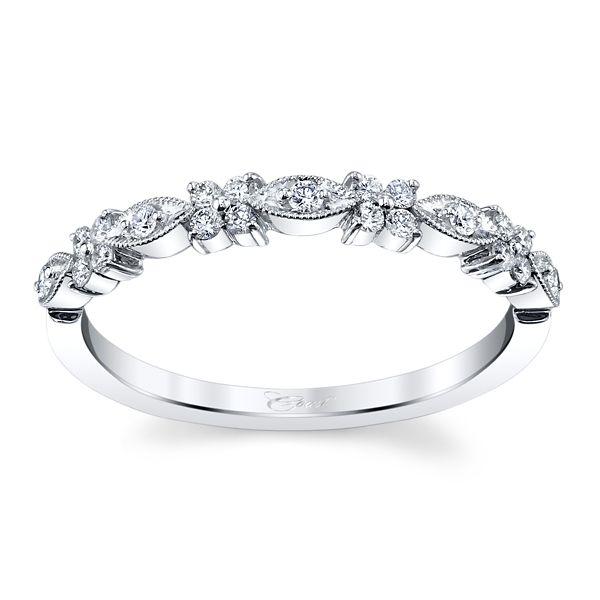 Coast Diamond 14k White Gold Diamond Wedding Band 1/6 ct. tw.