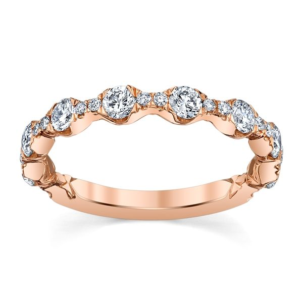 A. Jaffe 14k Rose Gold Diamond Wedding Band 3/4 ct. tw.