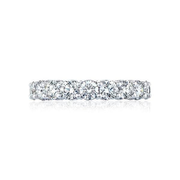 Tacori 18k White Gold Diamond Wedding Band 3 1/4 ct. tw.