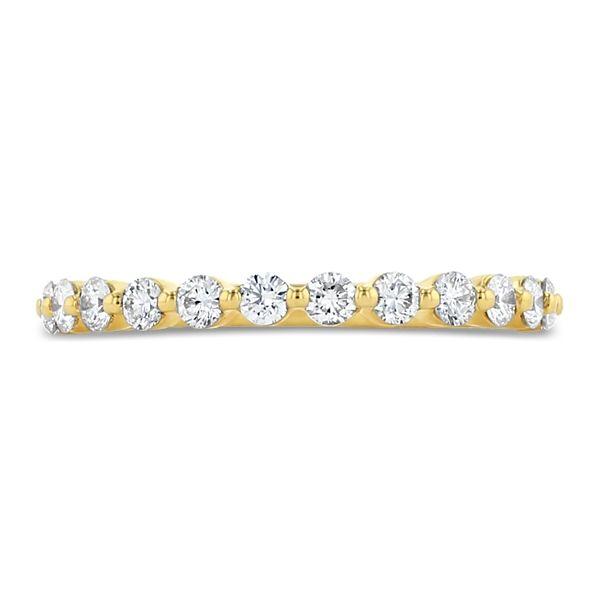 Henri Daussi 18k Yellow Gold Diamond Wedding Band 3/8 ct. tw.