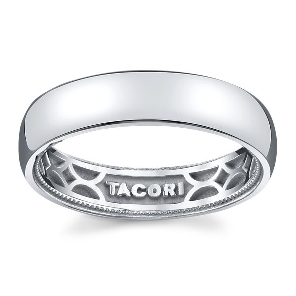 Tacori 14k White Gold Diamond Wedding Band .01 ct. tw.