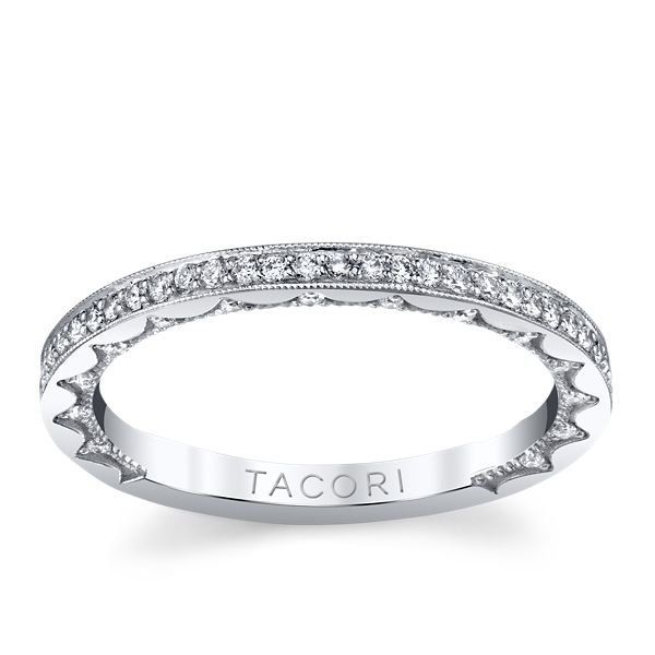 Tacori 14k White Gold Diamond Wedding Band 1/3 ct. tw.