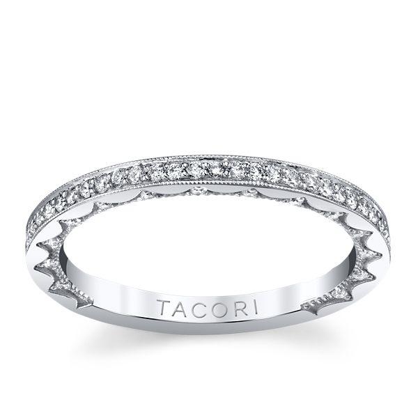 Tacori 14k White Gold Diamond Wedding Band 1/3 ct. tw.