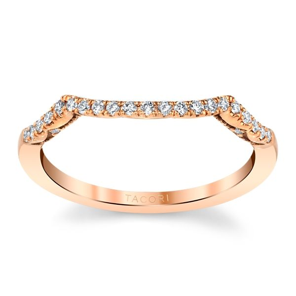 Tacori 14k Rose Gold Diamond Wedding Band 1/6 ct. tw.