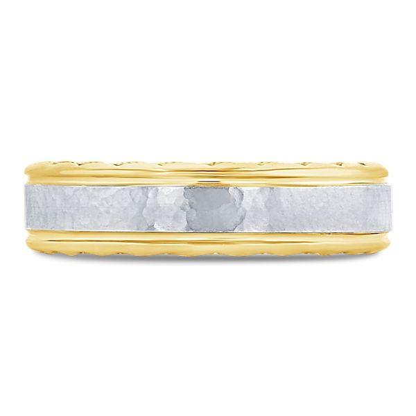 Tacori 18k Yellow Gold and 18k White Gold 6 mm Wedding Band