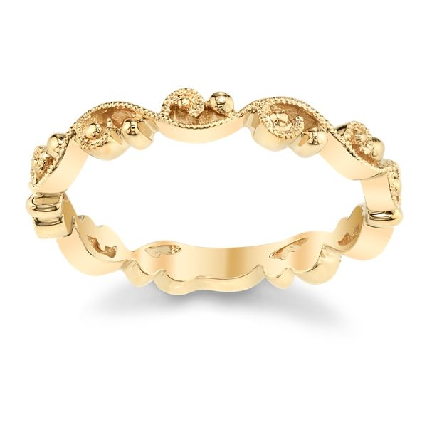 Kirk Kara 14k Yellow Gold Wedding Band