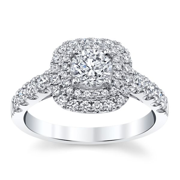 Utwo 14k White Gold Diamond Engagement Ring 1 1/4 ct. tw.