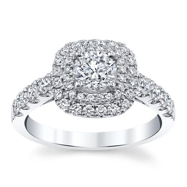 Utwo 14k White Gold Diamond Engagement Ring 1 1/4 ct. tw.