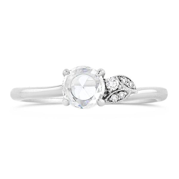 Kirk Kara 14k White Gold Diamond Engagement Ring 1/2 ct. tw.