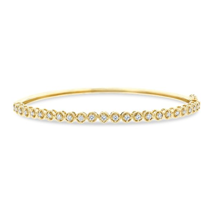 14k Yellow Gold Bracelet 1/2 ct. tw.