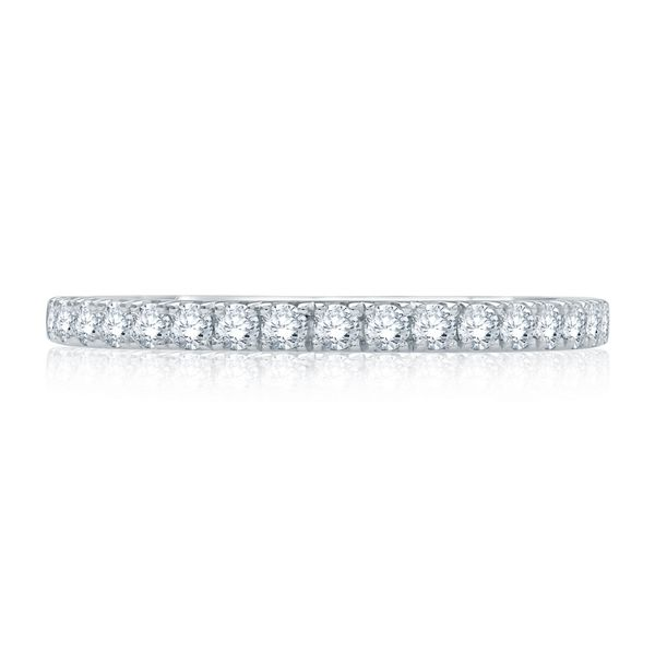 A. Jaffe 14k White Gold Diamond Wedding Band 3/8 ct. tw.