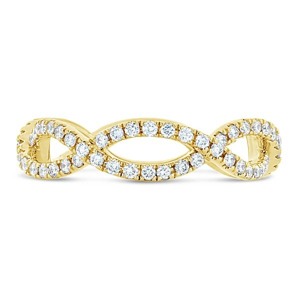 A. Jaffe 14k Yellow Gold Diamond Wedding Band 5/8 ct. tw.