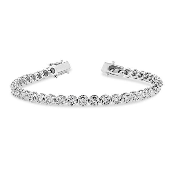 14k White Gold Bracelet 1 ct. tw.