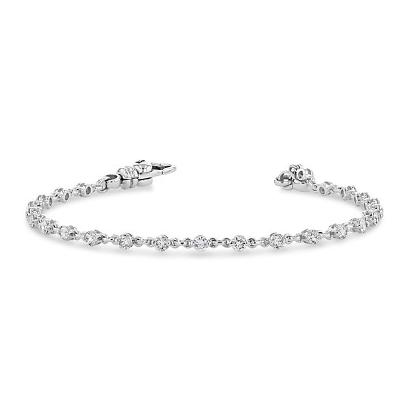 Eternalle Lab-Grown 14k White Gold Bracelet 1 1/2 ct. tw.