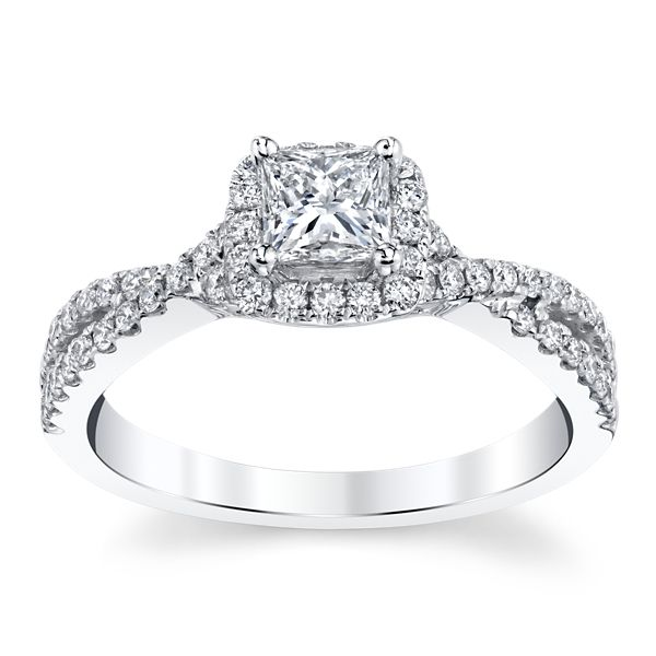 Eternalle Lab-Grown 14k White Gold Diamond Engagement Ring 3/4 ct. tw.