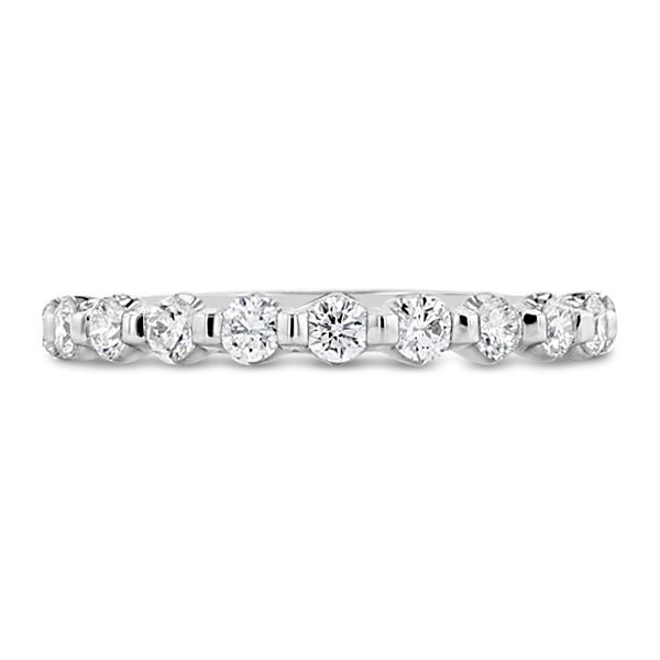 RB Signature 14k White Gold Diamond Wedding Band 1/2 ct. tw.