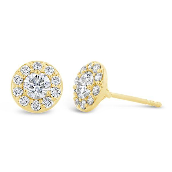 Eternalle Lab-Grown 14k Yellow Gold Earrings 1 ct. tw.