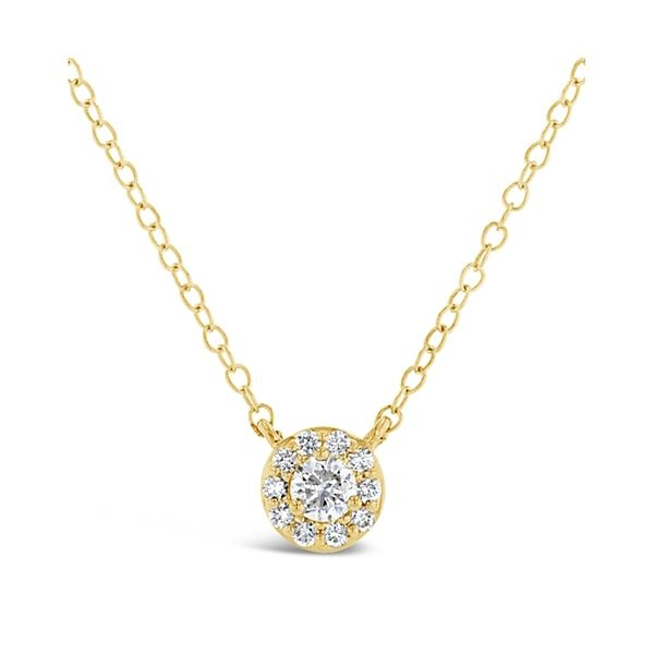 Eternalle Lab-Grown 14k Yellow Gold Necklace 1/4 ct. tw.