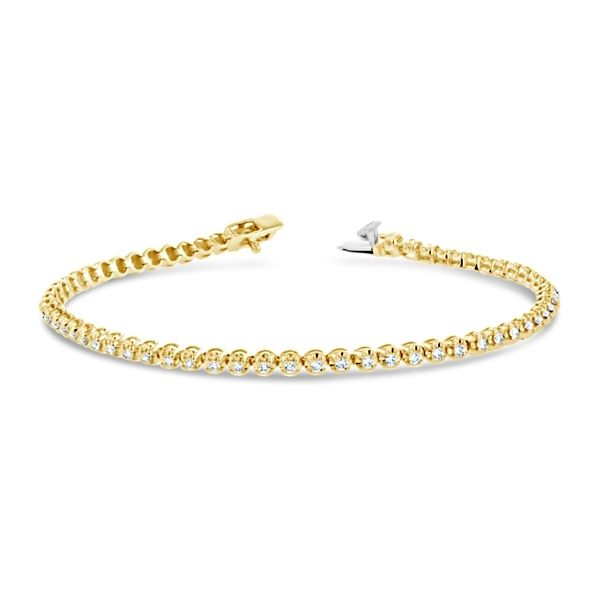 Eternalle Lab-Grown 14k Yellow Gold Bracelet 1 ct. tw.