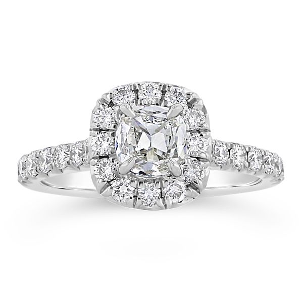 Henri Daussi Platinum Diamond Engagement Ring 1 1/3 ct. tw.