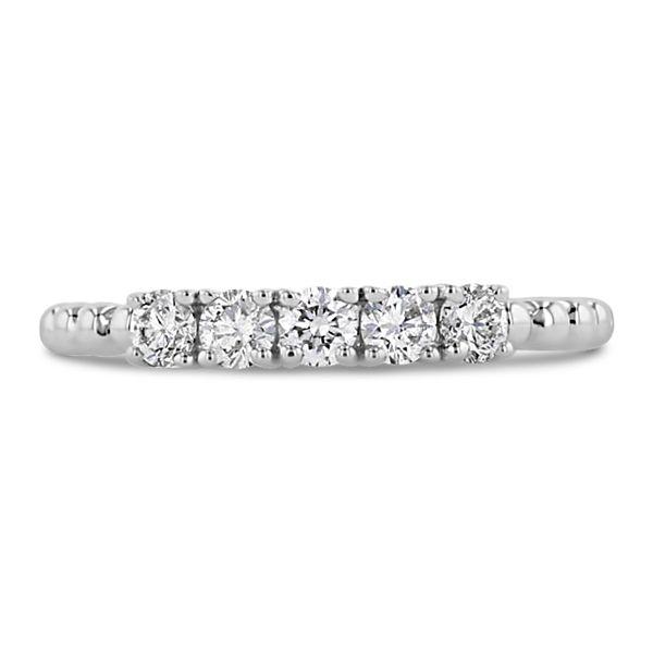14k White Gold Diamond Wedding Band 3/8 ct. tw.