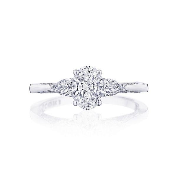 Tacori 18k White Gold Diamond Engagement Ring Setting 1/3 ct. tw.