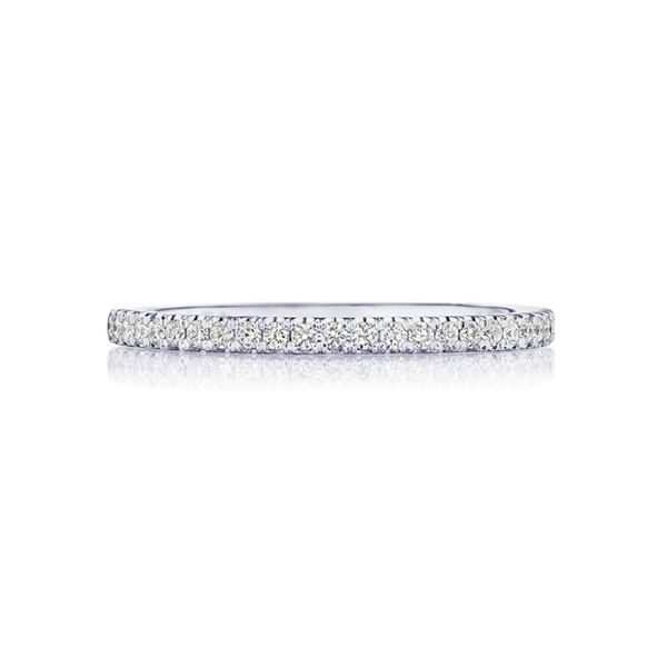 Tacori 18k White Gold Diamond Wedding Band 1/3 ct. tw.