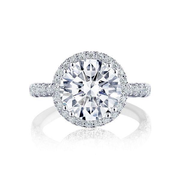 Tacori Platinum Diamond Engagement Ring Setting 7/8 ct. tw.