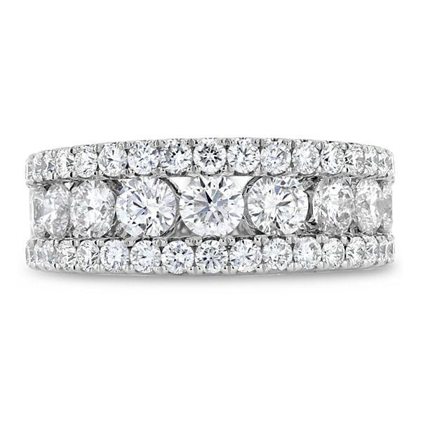 Divine 14k White Gold Diamond Wedding Band 2 ct. tw.