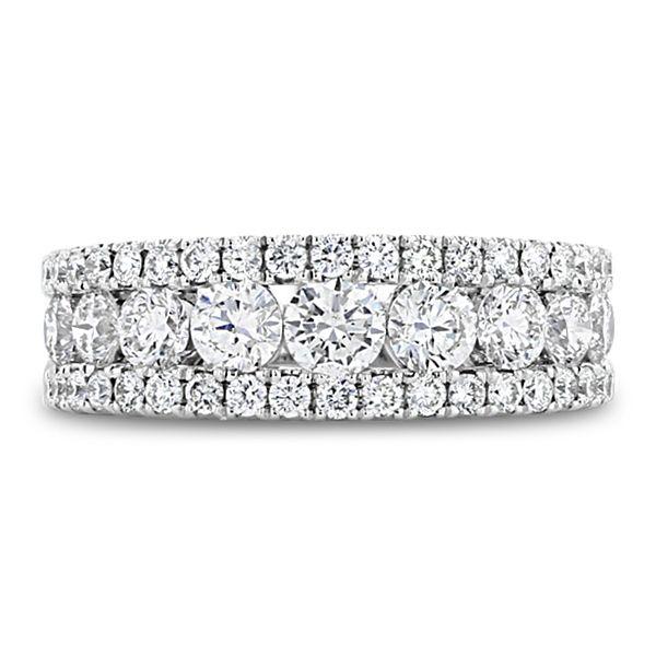 Divine 14k White Gold Diamond Wedding Band 1 1/2 ct. tw.