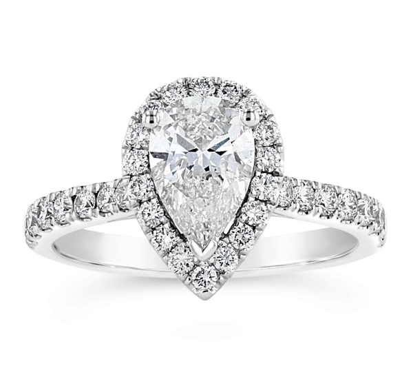 Eternalle Lab-Grown 14k White Gold Diamond Engagement Ring 1 1/3 ct. tw.