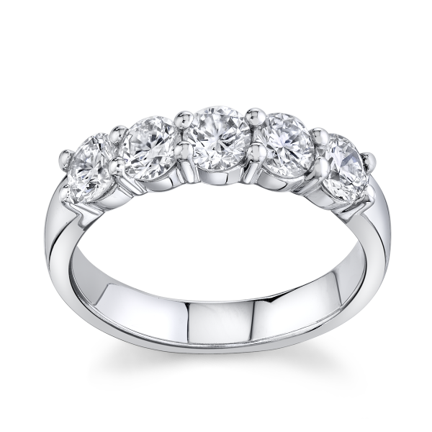 Eternalle Lab-Grown 14k White Gold Diamond Wedding Band 1 ct. tw.