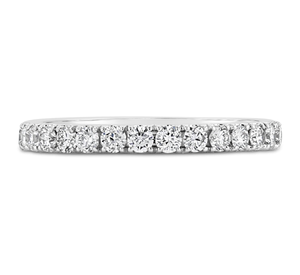 Eternalle Lab-Grown 14k White Gold Diamond Wedding Band 1/2 ct. tw.