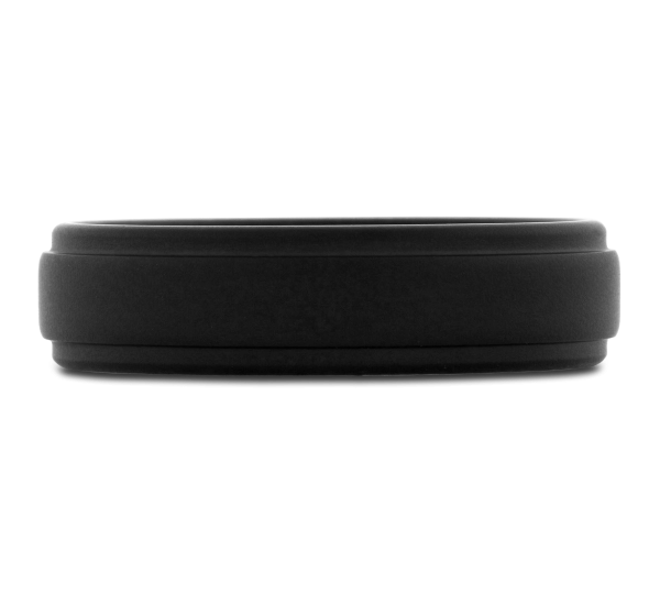 Triton Black Tungsten 6 mm Wedding Band