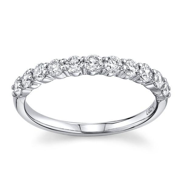 Eternalle Lab-Grown 14k White Gold Diamond Wedding Band 1/2 ct. tw.