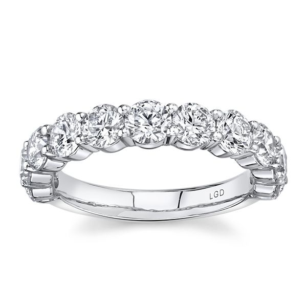 Eternalle Lab-Grown 14k White Gold Diamond Wedding Band 2 ct. tw.
